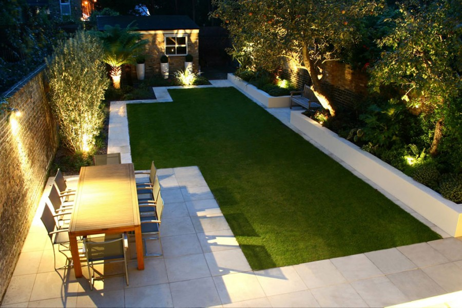 Landscape Lighting — Glowing Outdoors at Night