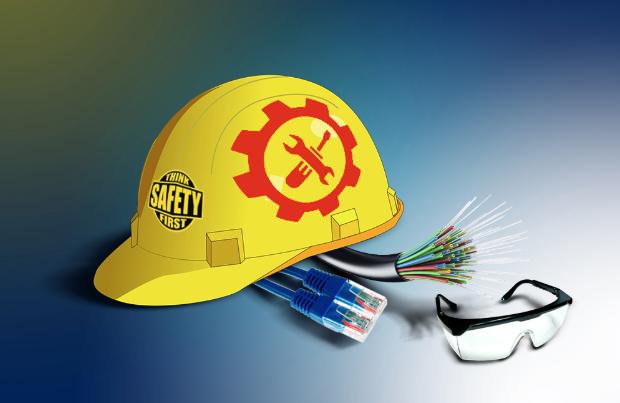 Safety Procedures for Handling Optical Fiber Cables