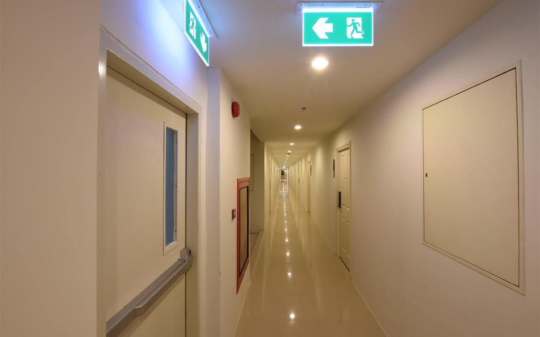 Emergency lighting: Escape Route Luminaires